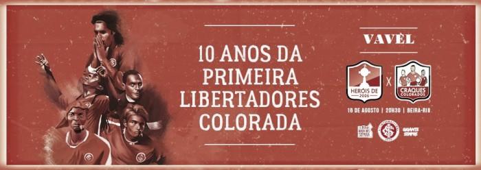 Resultado da partida comemorativa dos 10 anos da Libertadores do Internacional