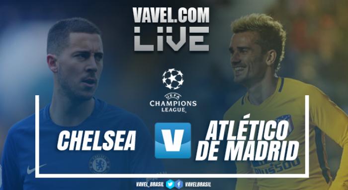 Resultado Chelsea x Atlético de Madrid pela Uefa Champions League 2017/18 (1-1)