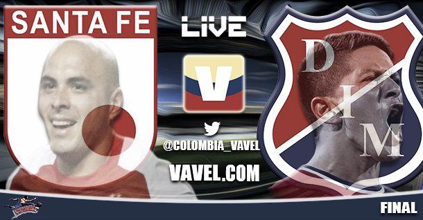 Santa Fe vs Independiente Medellín, final Liga Postobón 2014 en vivo online