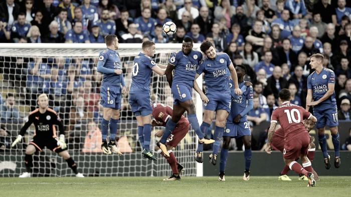 Resumen del Liverpool 2-1 Leicester en Premier League 2017