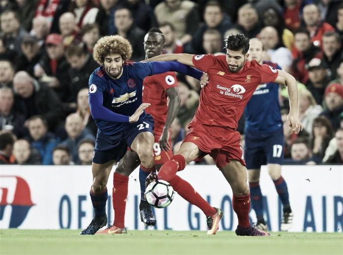 Liverpool para em De Gea e empata sem gols com Man United após 11 anos