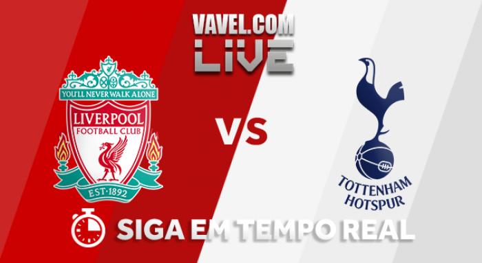 Resultado Liverpool x Tottenham pela Premier League 2017/18 (2-2)