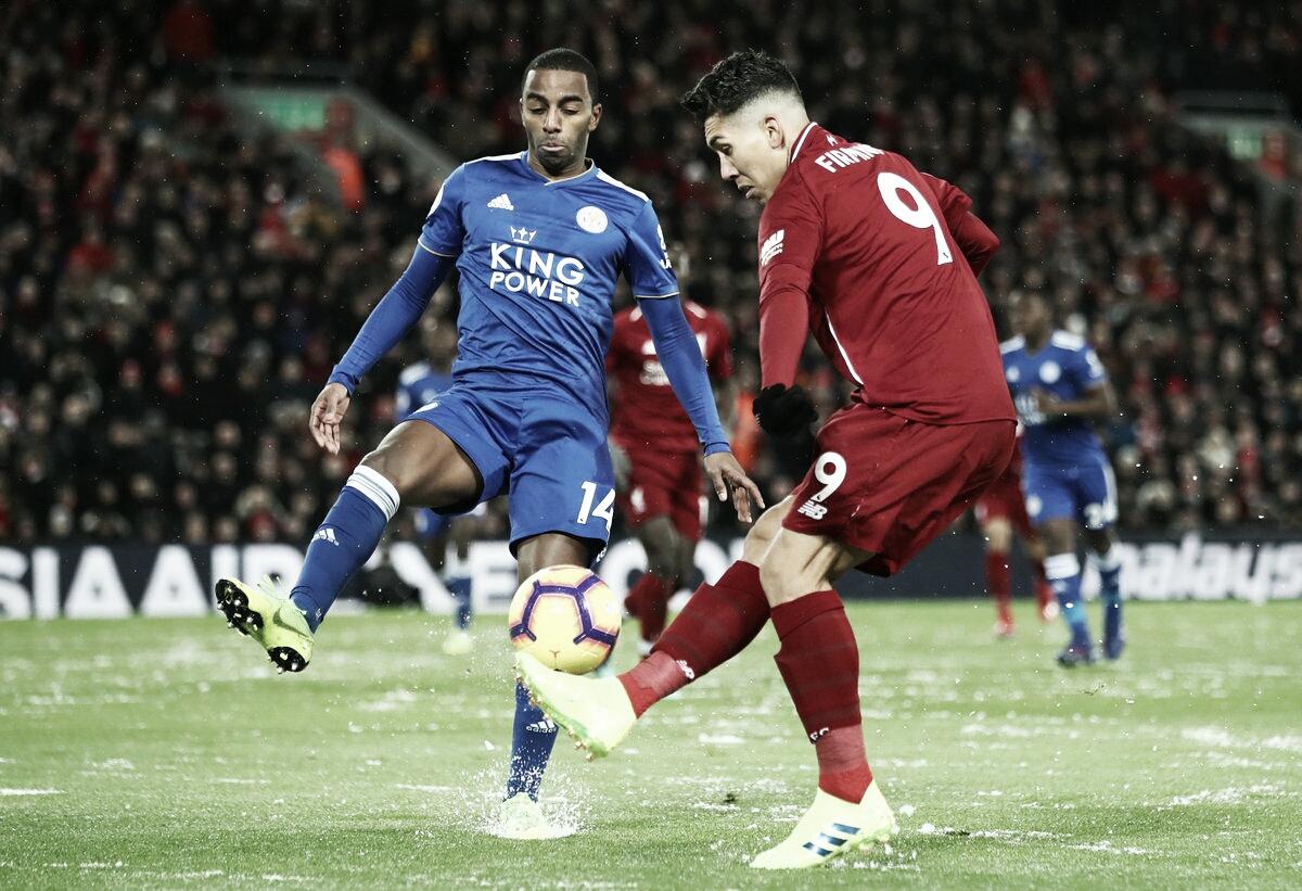 Liverpool empata com Leicester e abre cinco pontos de vantagem na liderança da Premier League