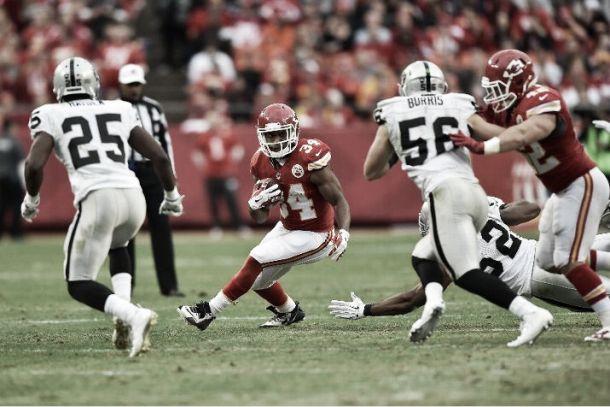 Dulce venganza de los Chiefs ante los Raiders