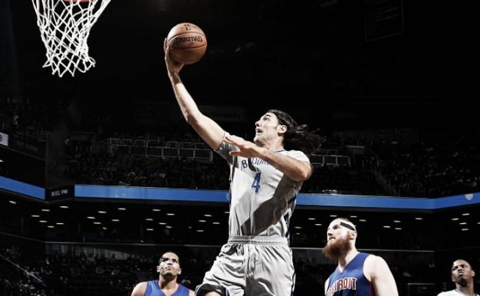 Los Pistons no pudieron ante los Nets de Scola