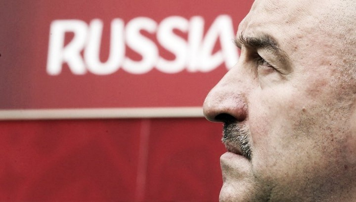 Técnico da Rússia, Stanislav Cherchesov, diz estar com time preparado para estreia da Copa