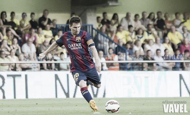 Vicente Caldéron: a casa do primeiro «hat-trick» de Messi fora de Nou Camp
