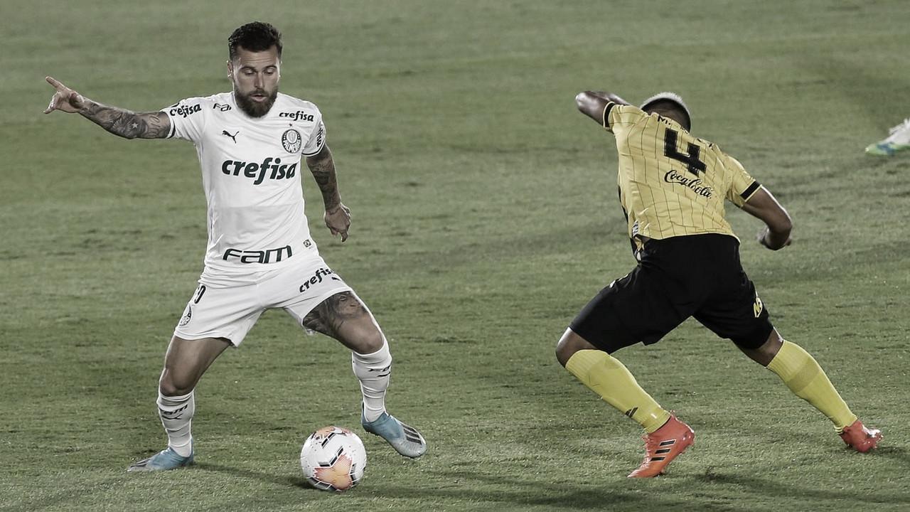 Guaraní e Palmeiras maltratam a bola e não saem do zero no Paraguai