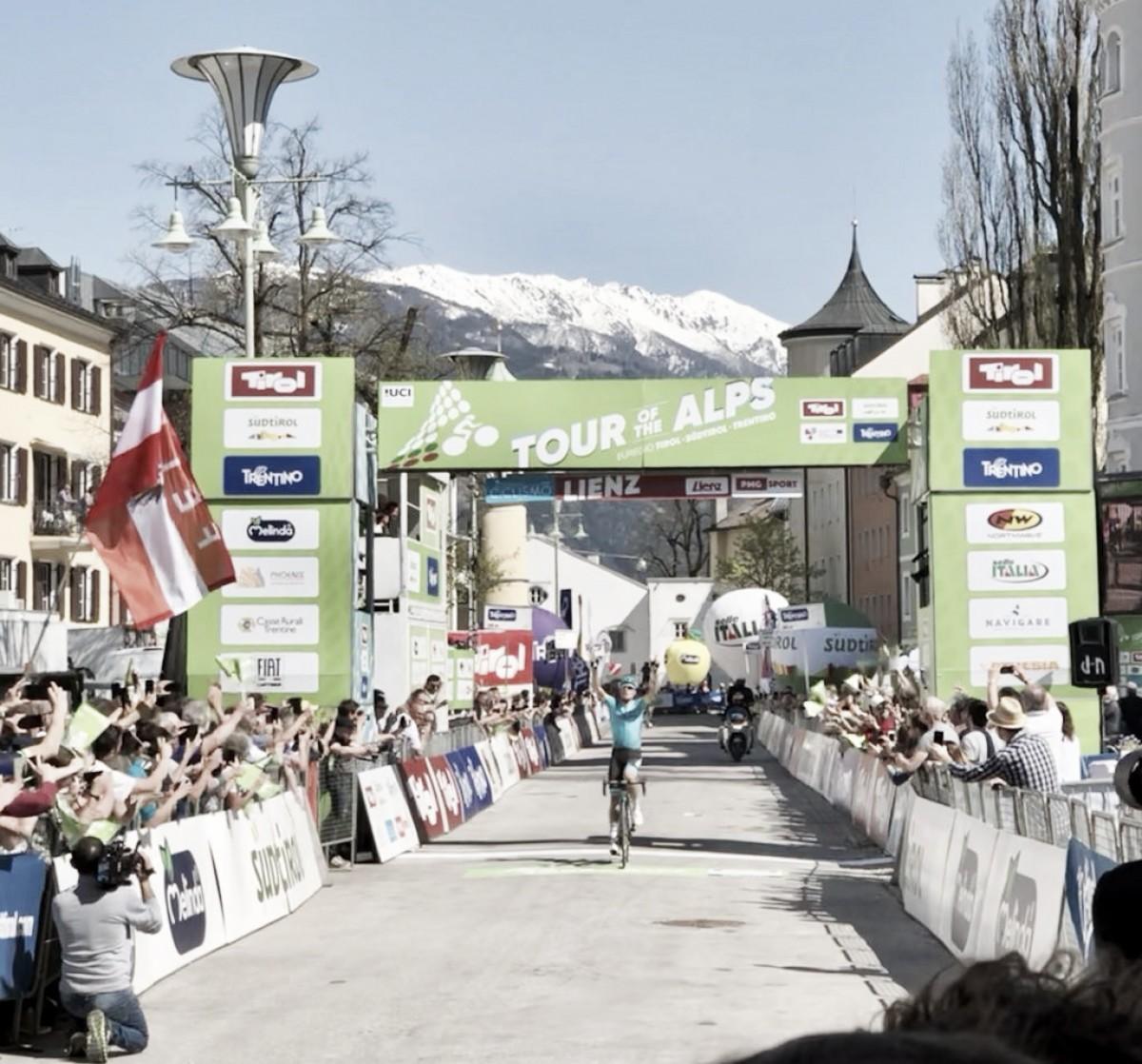 Tour of The Alps, acuto di Luis Leòn Sanchez a Lienz