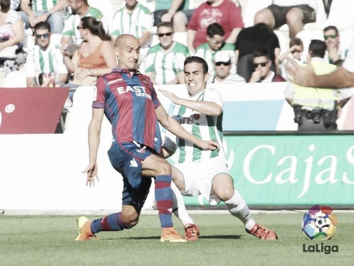 El Levante encaja su primera derrota en Córdoba