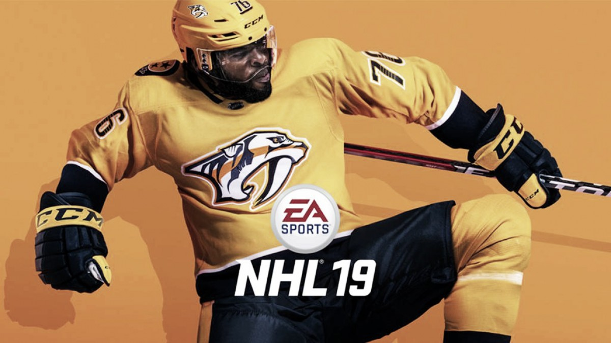 P.K. Subban, en la portada del videojuego 'NHL 19'