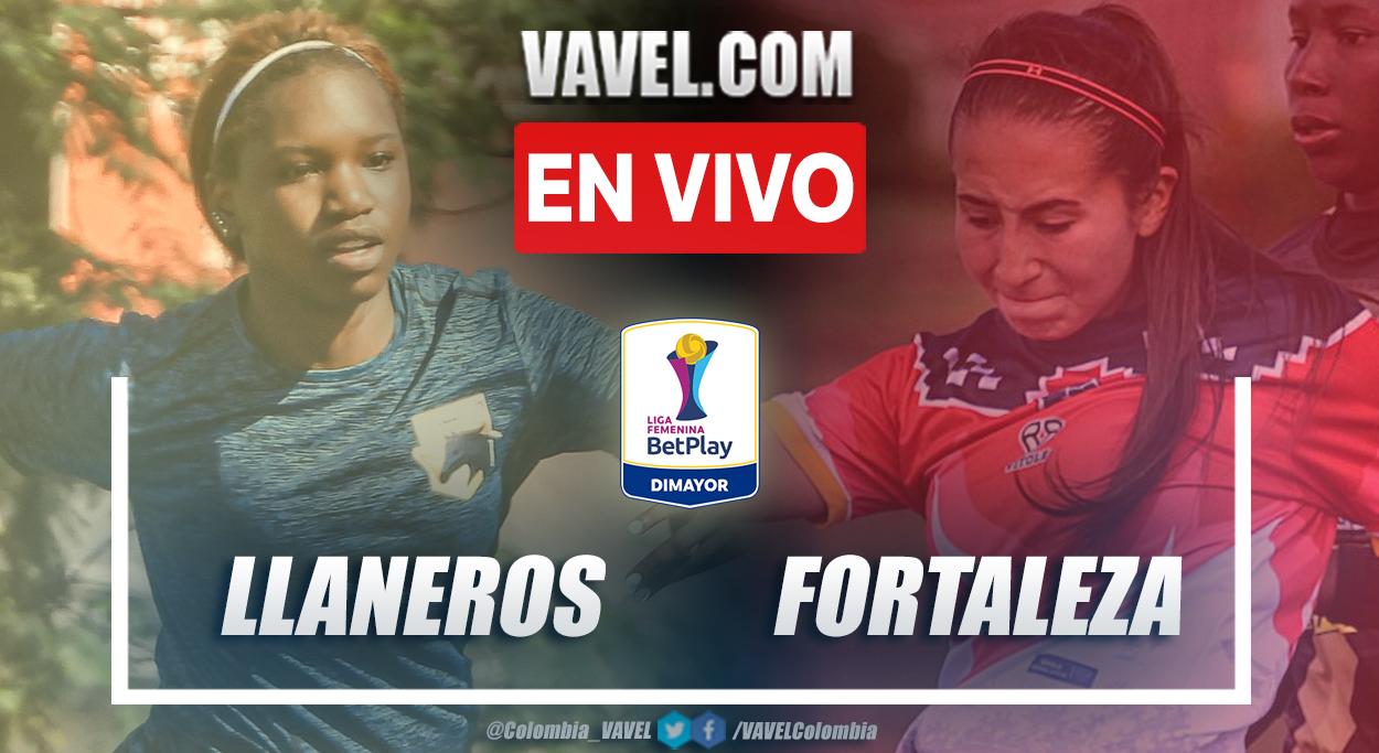 Resumen Llaneros vs Fortaleza (0-0) en la fecha 6 del grupo A por Liga Femenina 2021