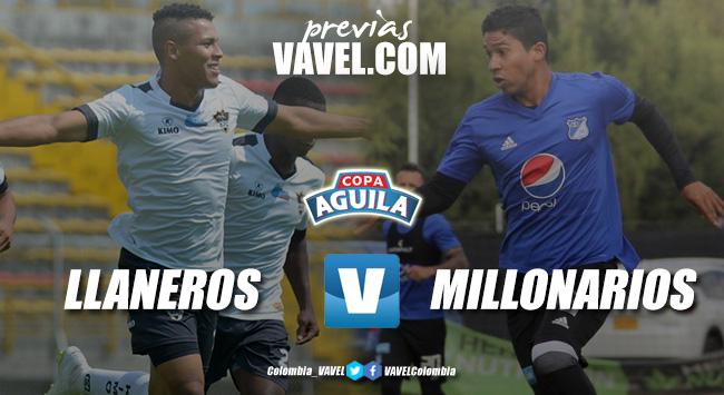 Previa Llaneros FC vs Millonarios: un compromisopara afianzar el liderato
