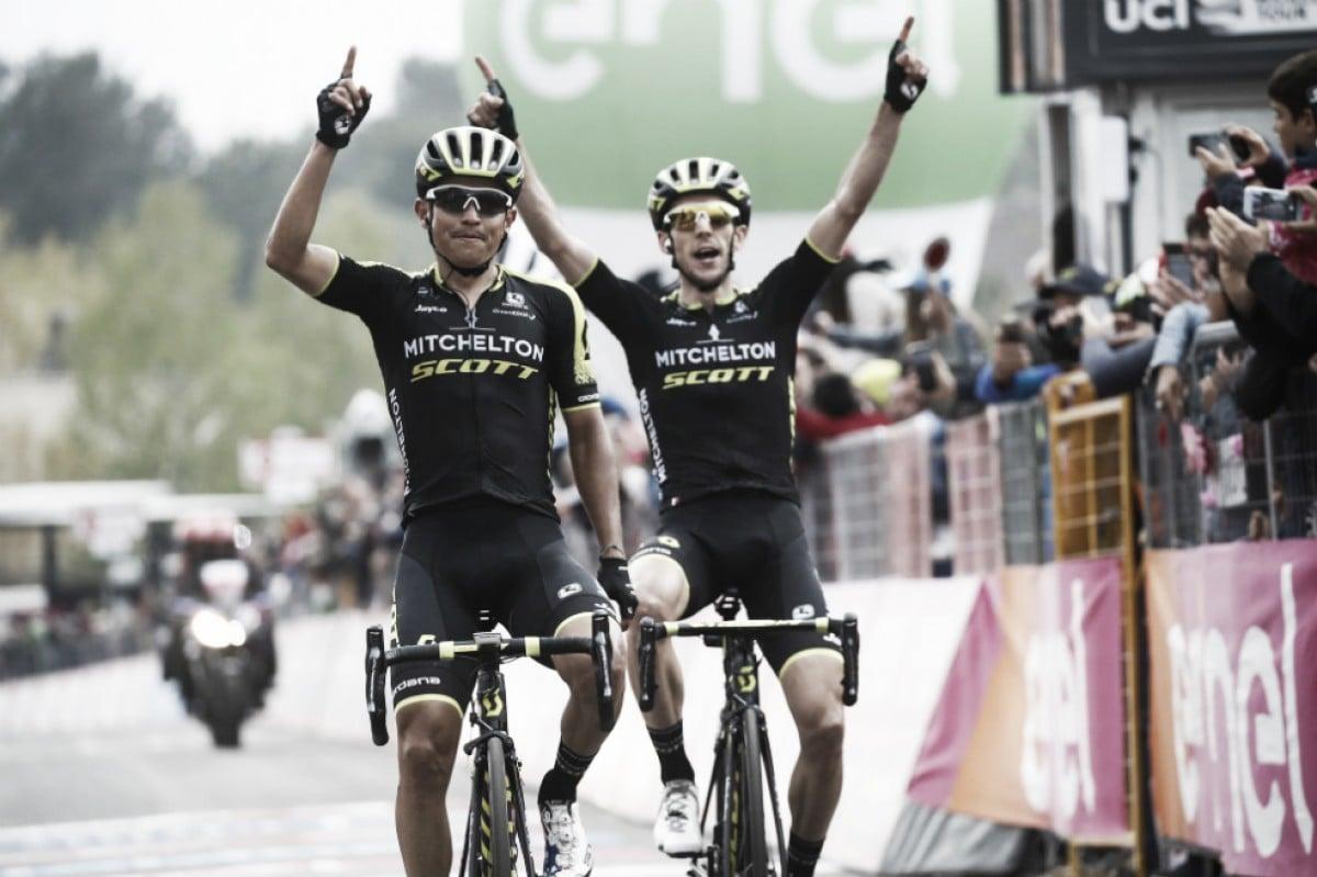 Esteban Chaves ganó la sexta etapa del Giro de Italia