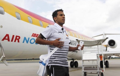 El Valencia llega a Alemania