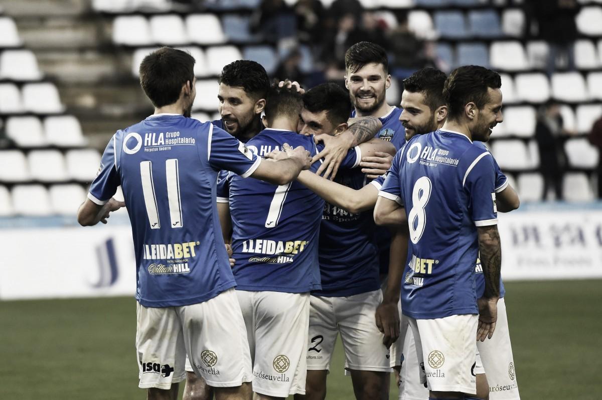 El Lleida sigue aspirando al playoff