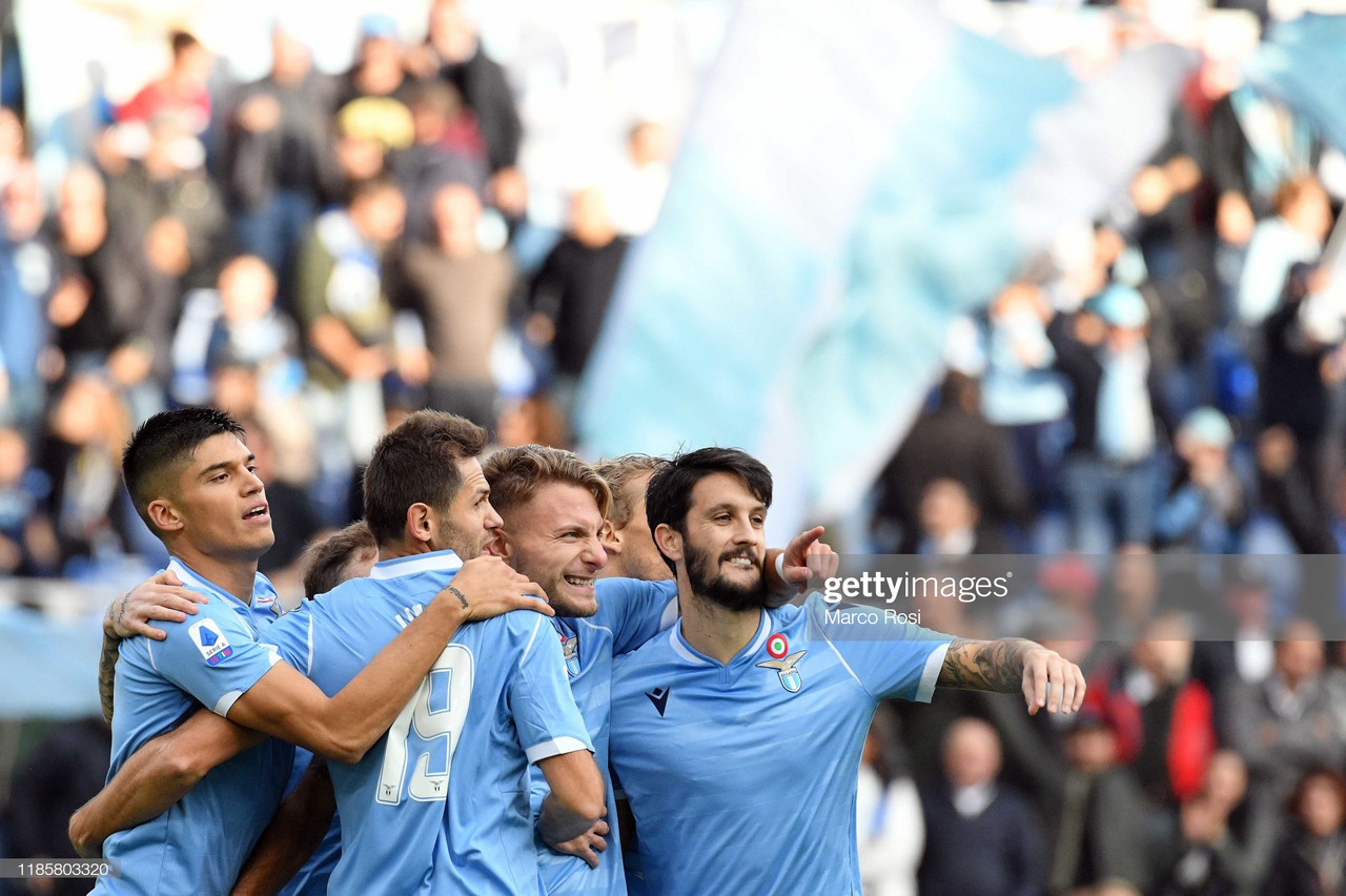 Lazio 3-0 Udinese: Lazio win a sixth consecutive match