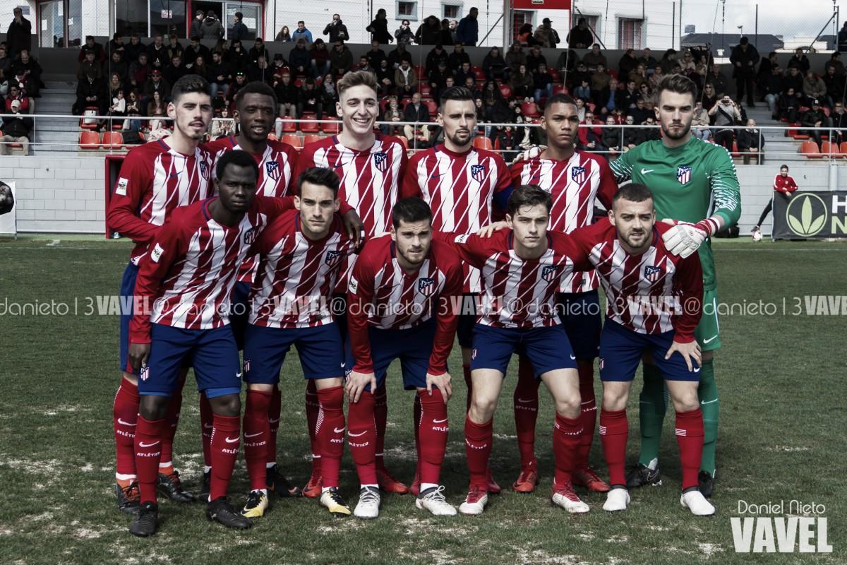 El Atlético B roza los playoffs