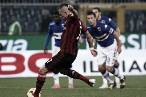 Spettacolo e gol: Samp - Milan è 2-2