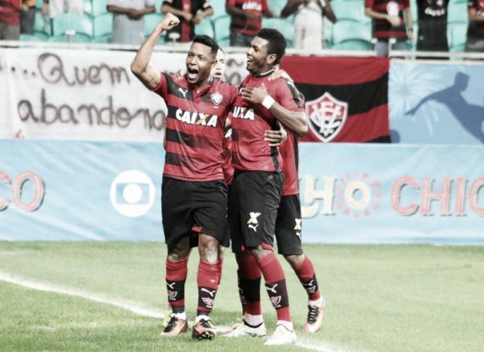 Vitória vence América-MG em Salvador e deixa zona de rebaixamento