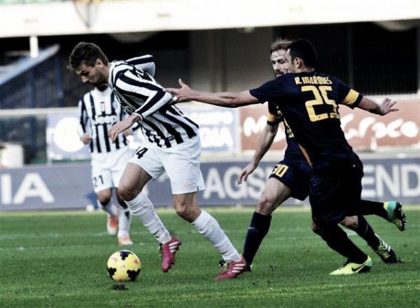 Juventus-Hellas Verona: secondo round