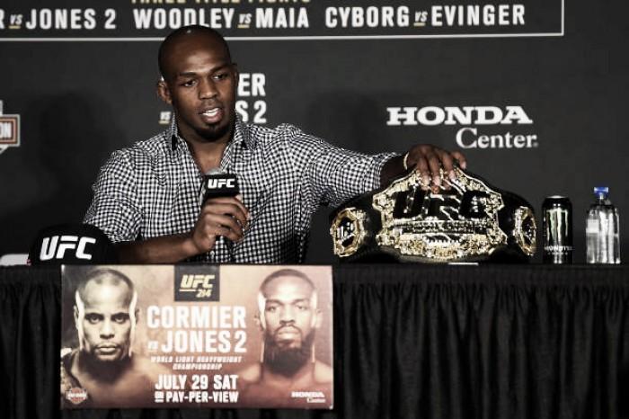 Jon Jones apanhado no teste antidoping pode perder título do UFC 214