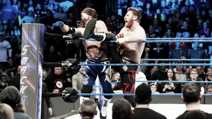 Styles se cansa de Daniel Bryan y Shane McMahon
