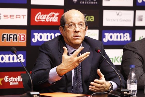 """Llorente: """"Como presidente he cometido errores y los asumo"""""""