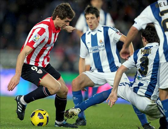 Real Sociedad- Athletic: puntuaciones del Athletic, jornada 6