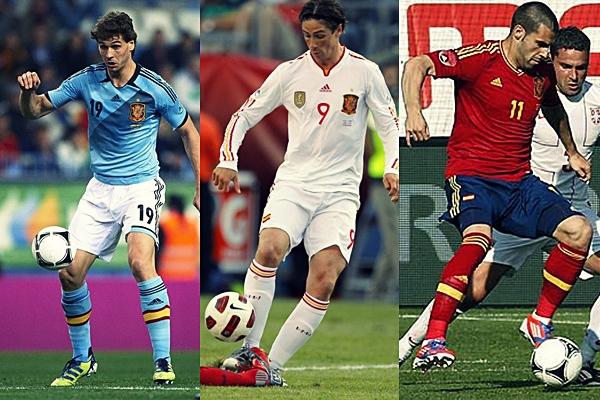 Llorente, Torres y Negredo: el gol de España