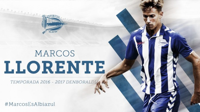 Alavés anúncia empréstimo do jovem meia Marcos Llorente junto ao Real Madrid