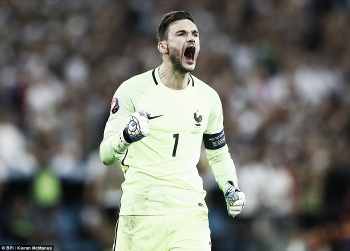 Tottenham's Euro 2016 update: Lloris into the final with France whilst Ben Davies watches on as Wales crash out