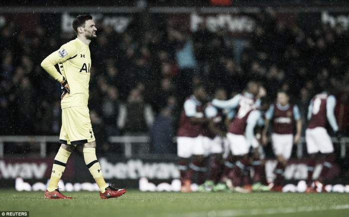West Ham United 1-0 Tottenham Hotspur: Antonio with the winner as Spurs blow chance to go top