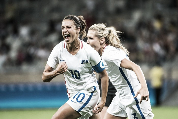 USA 1-0 France: Lloyd goal gives Ellis' side a narrow victory