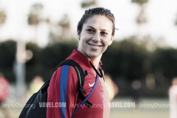 Carli Lloyd rumored to be leaving the Houston Dash