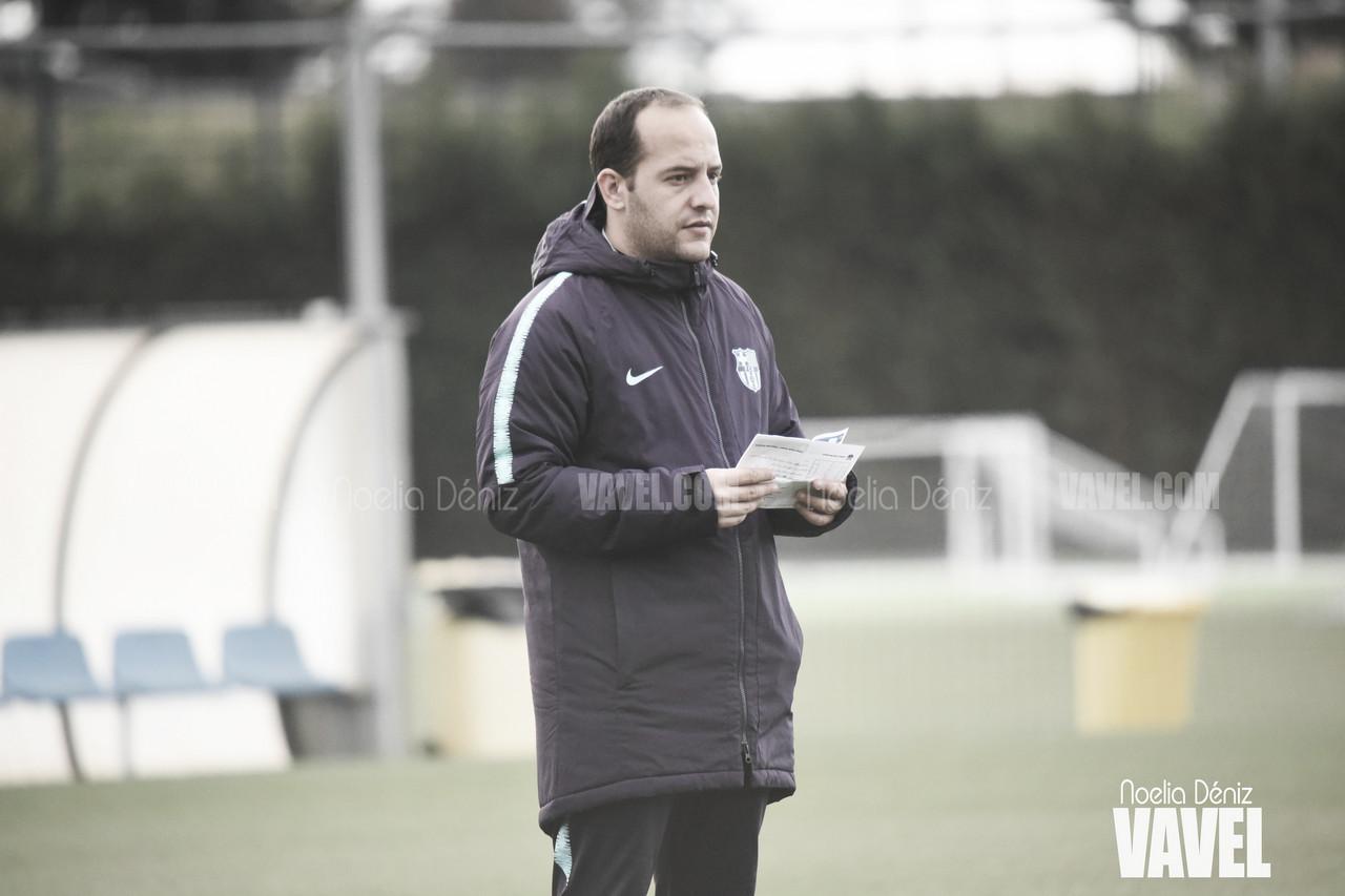 """Lluís Cortés: """"Las jugadoras sienten que se han reenganchado a la Liga"""""""