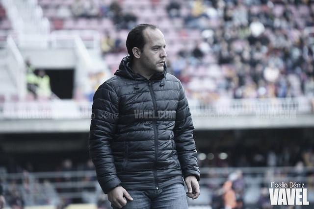 """Lluís Cortés: """"Jugar con las cartas cambiadas nos ayuda a no ir con la etiqueta de favorito, y eso es bueno"""""""
