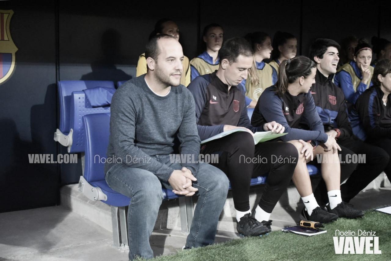 """Lluís Cortés: """"Si queremos ser un equipo grande no podemos aflojar"""""""