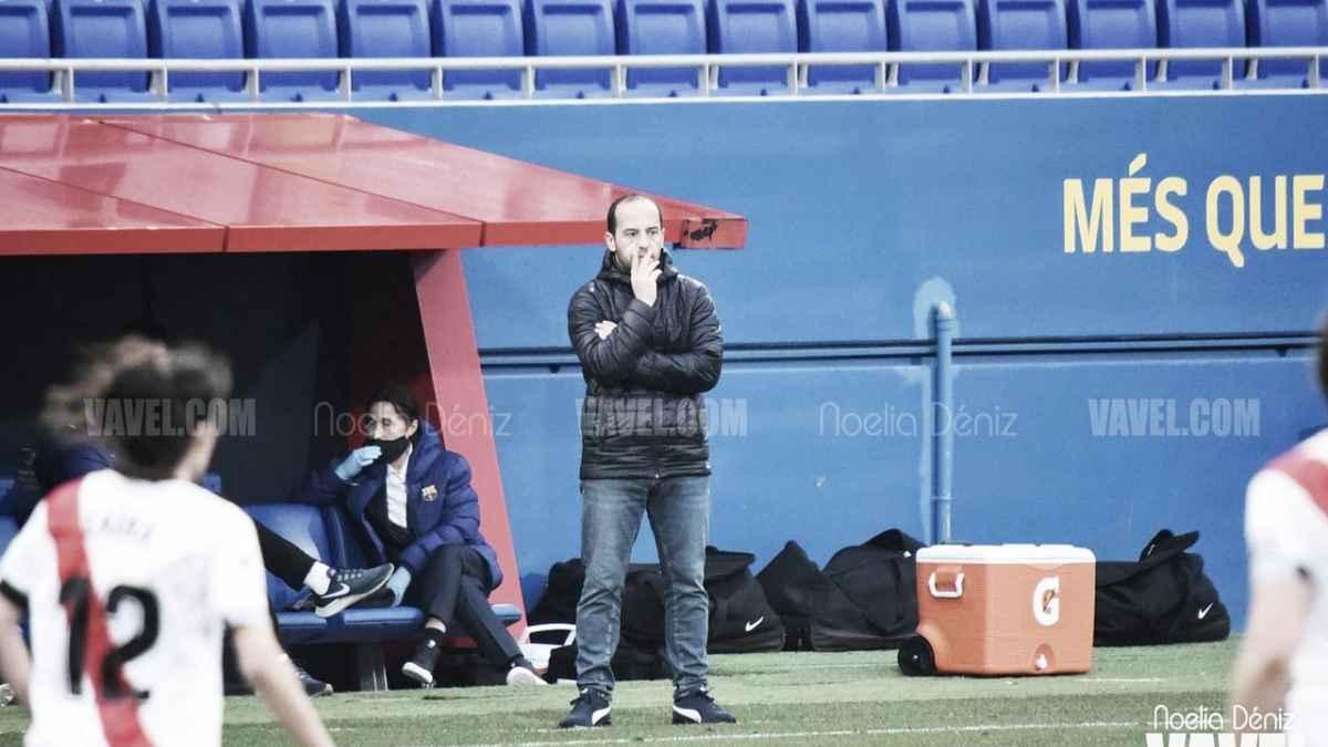 """Lluís Cortés: """"Es muy importante que las jugadoras del filial tengan minutos"""""""