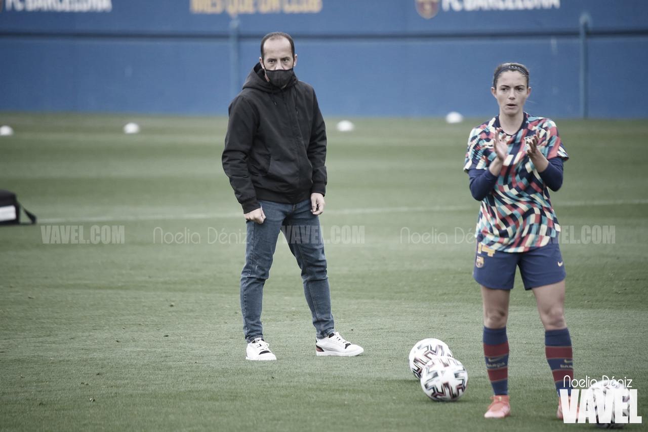 """Lluís Cortés: """"Estamos preparadas para jugar contra cualquier equipo de Europa"""""""