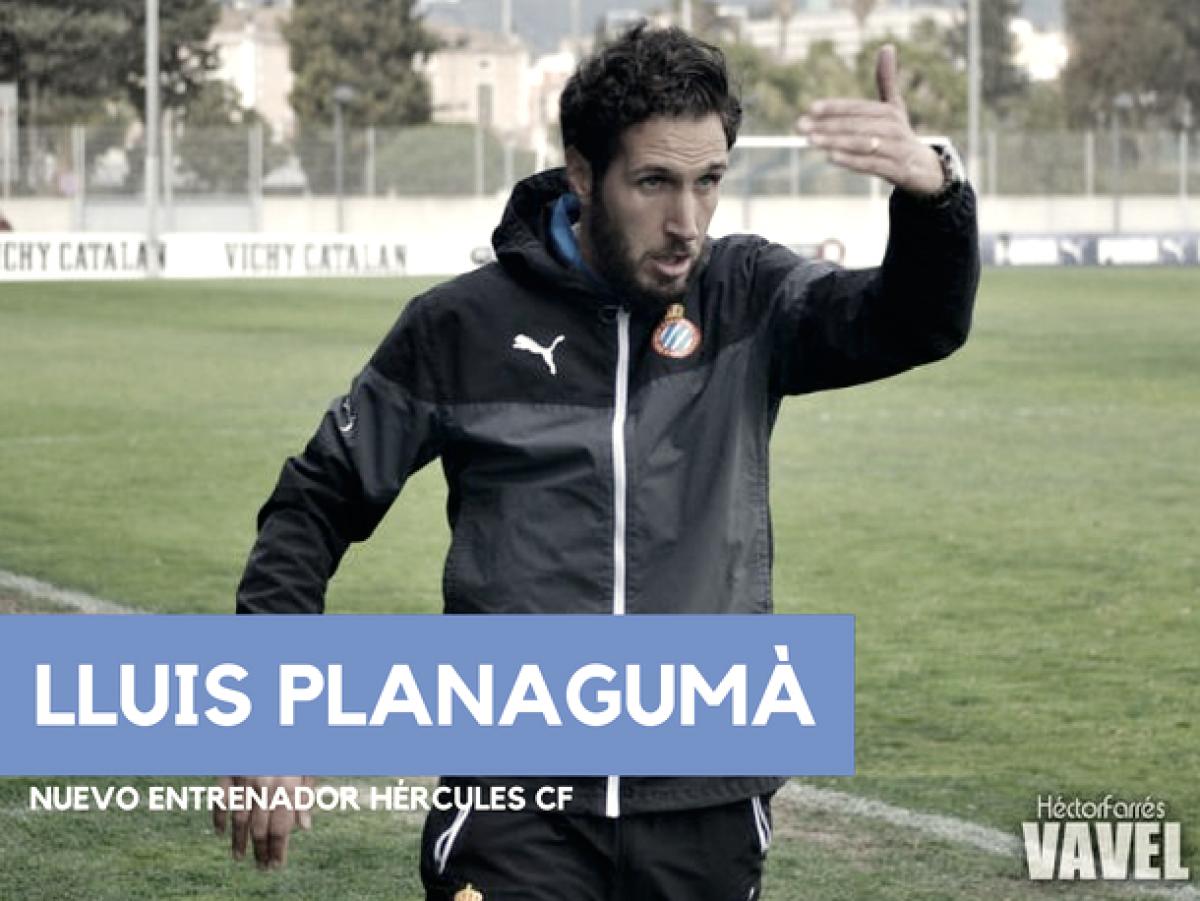 Lluis Planagumà, nuevo entrenador del Hércules CF
