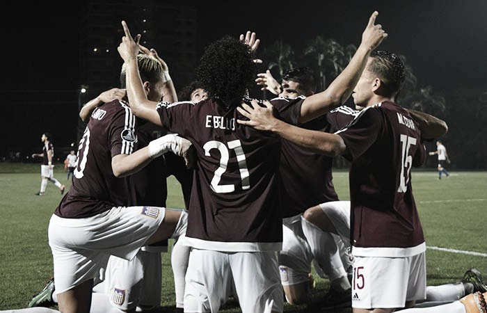 Carabobo FC se impuso a Mineros bajo una intensa lluvia de goles