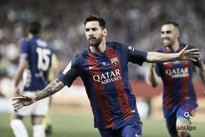 Copa del Rey, Leo Messi e l'ultimo regalo a Luis Enrique