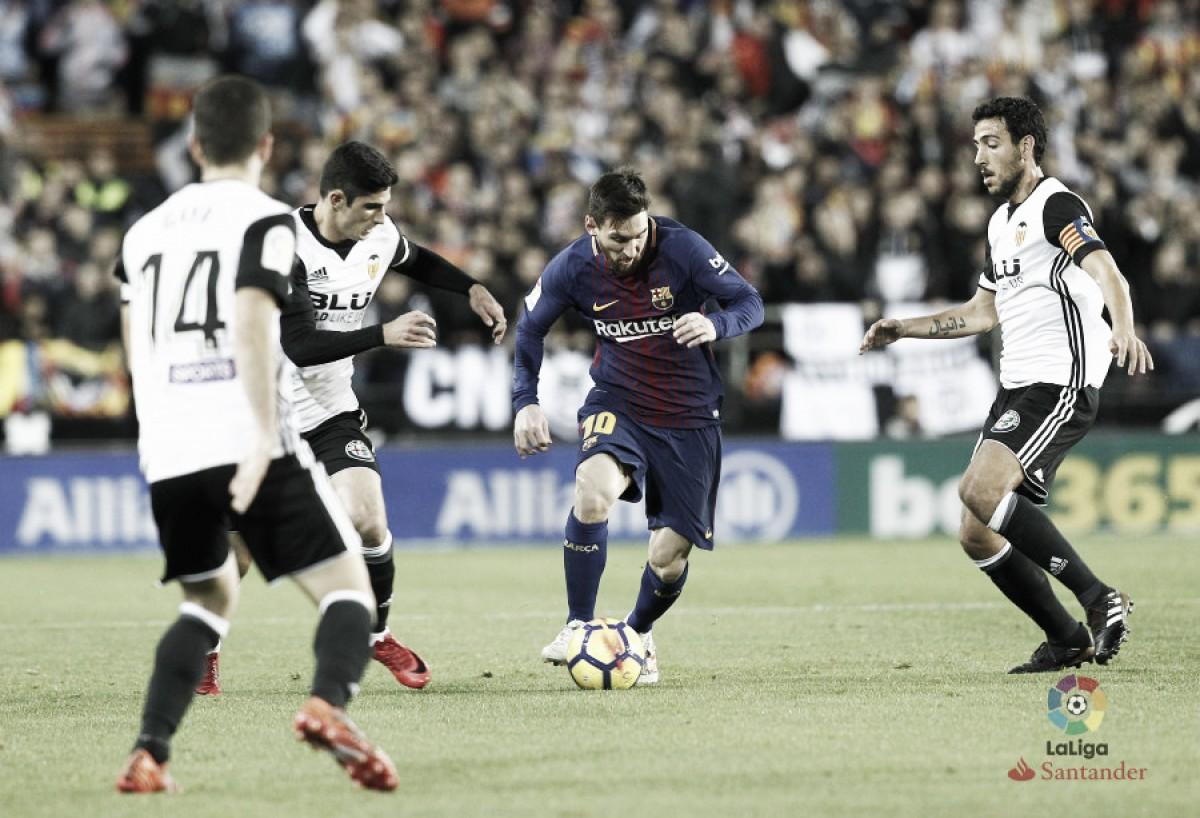 Liga, Barça costretto a ripartire contro il Valencia