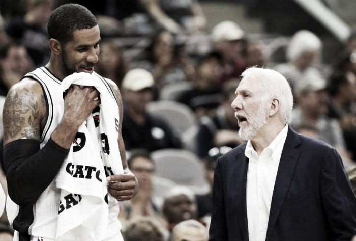 NBA, Gregg Popovich prova a rigenerare LaMarcus Aldridge