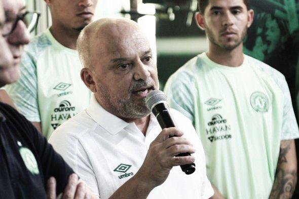 Chapecoense demite executivo de futebol Newton Drummond