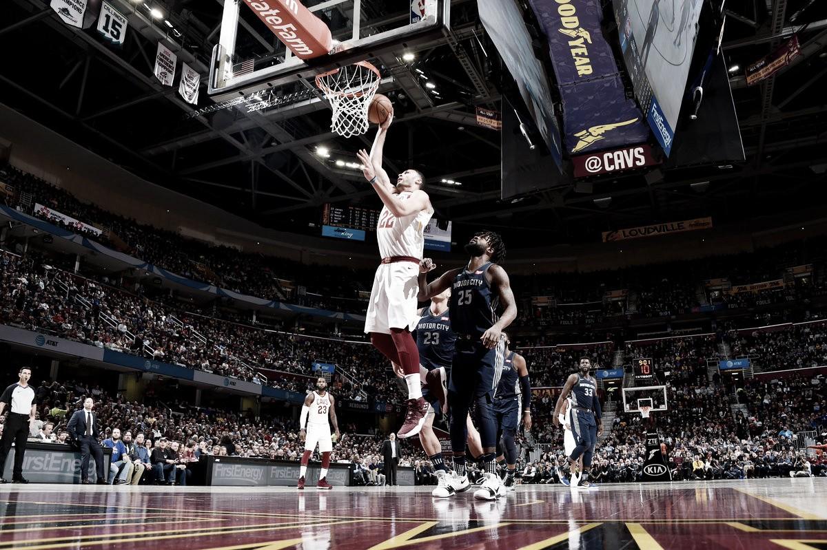 NBA, Cleveland torna al successo contro i Pistons (112-90)
