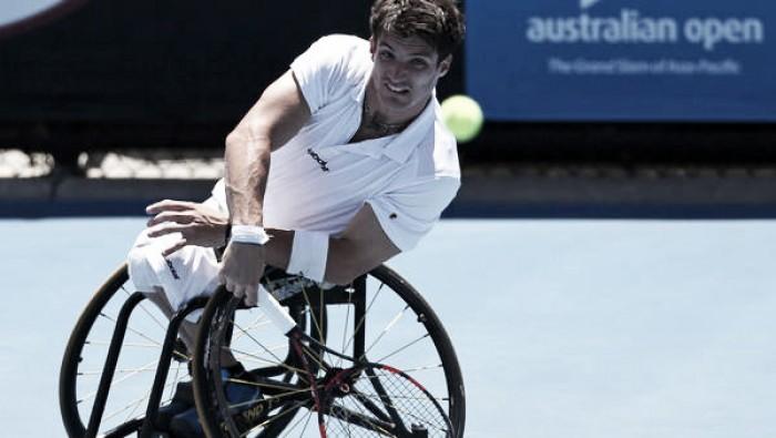 Gustavo Fernández en semifinales del Abierto de Australia