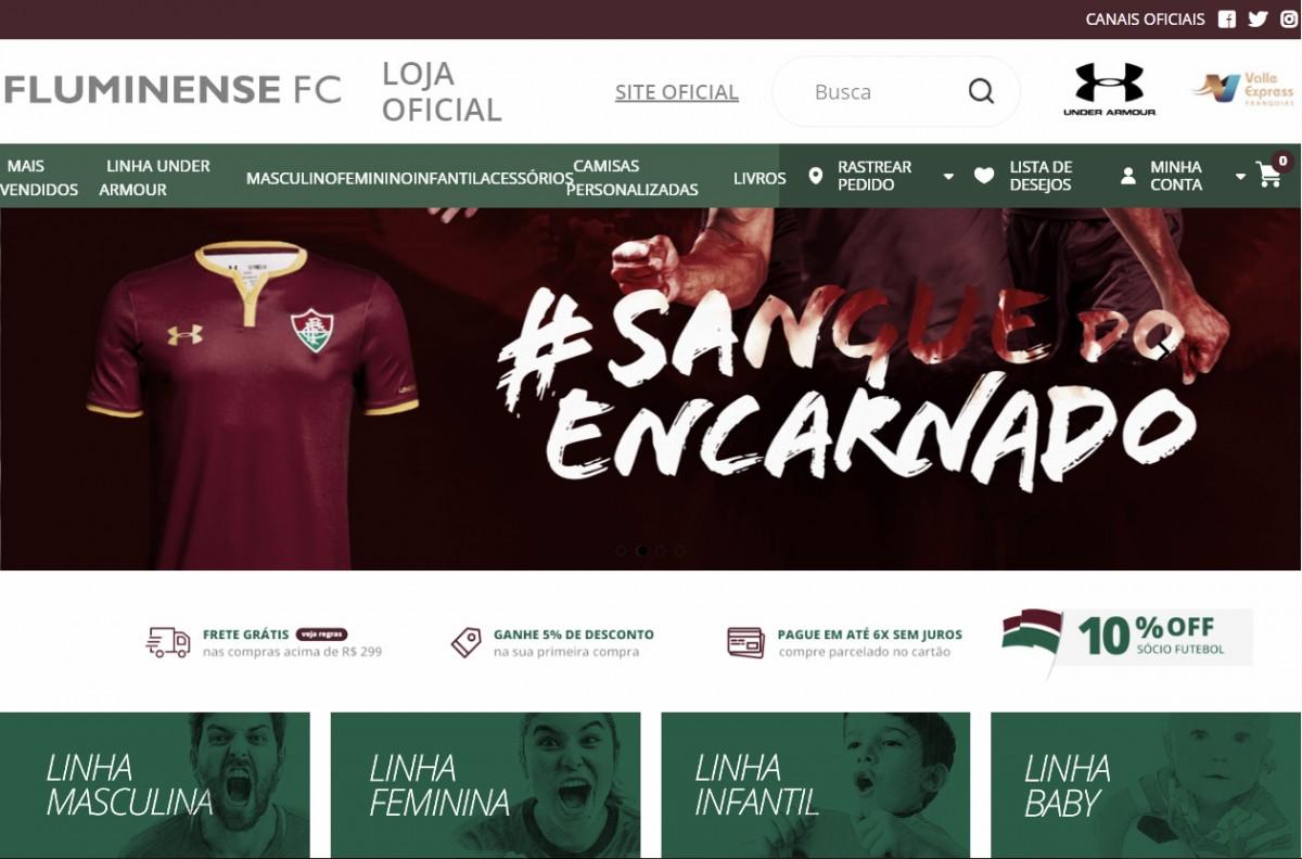 Promessa antiga da diretoria, Fluminense lança loja online oficial