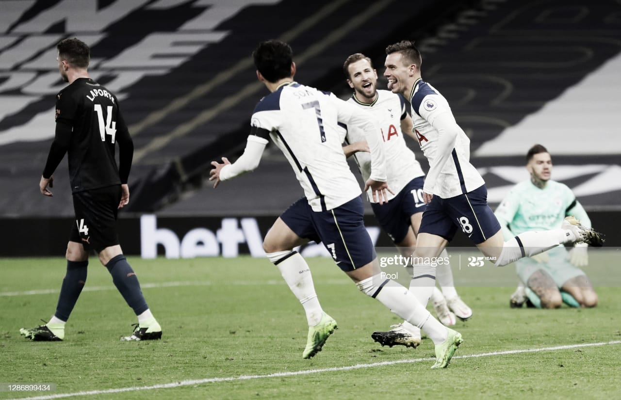 Gol de Lo Celso en la victoria del Tottenham